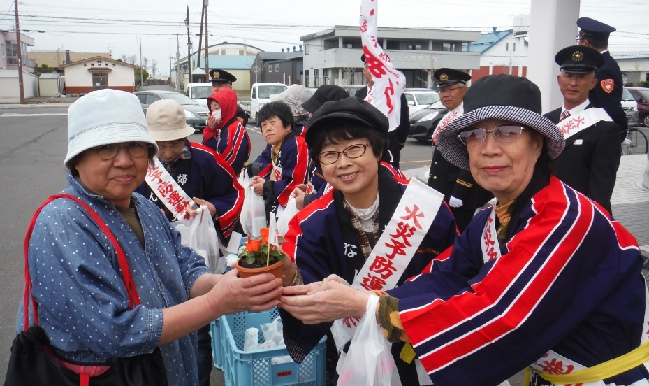 南幌町第15区女性防火クラブさんイメージ1